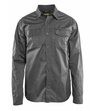 Blaklader Blåkläder 3298 Overhemd Twill Grijs