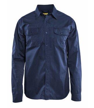 Blaklader Blaklader 3298 Overhemd Twill Marineblauw