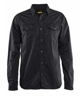 Blaklader Blaklader 3297 Overhemd Twill Zwart