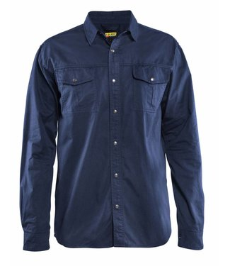 Blaklader Blaklader 3297 Overhemd Twill Marineblauw