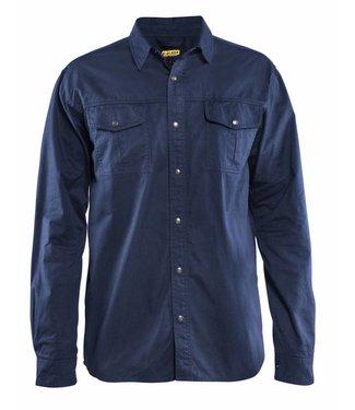 Blaklader Blåkläder 3297 Overhemd Twill Marineblauw