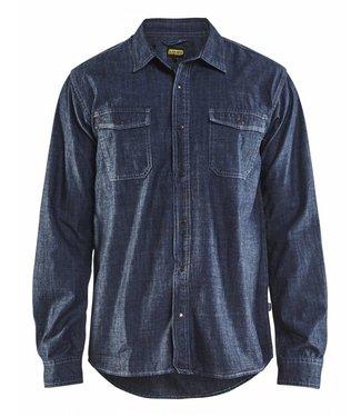 Blaklader Blaklader 3295 Overhemd Denim Marineblauw