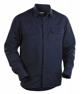 Blaklader Blåkläder 3227 Overhemd vlamvertragend Marineblauw
