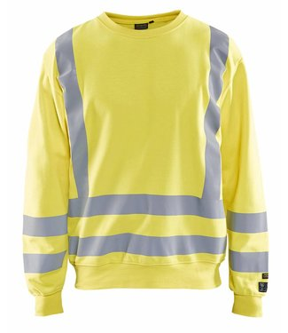 Blaklader Blåkläder 3087 Multinorm Sweatshirt Geel