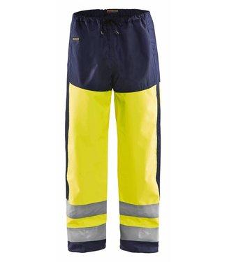 Blaklader Blåkläder 1865 Regenbroek High Vis Geel/Marineblauw