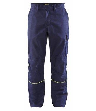 Blaklader Blåkläder 1701 Lasbroek Marineblauw/Geel