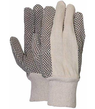 M-Safe Polkadot handschoen met zwarte PVC nopjes