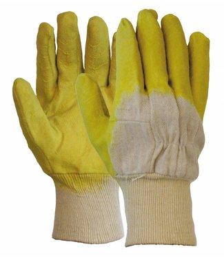 M-Safe Latex gedompelde handschoen met open rugzijde