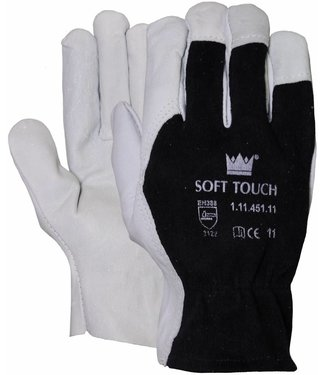 M-Safe Nappalederen Tropic handschoen met wingduim