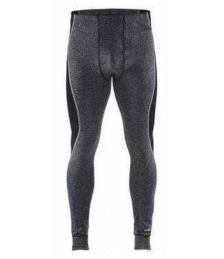 Blaklader Blåkläder 1849 Lange onderbroek 100% Merino WARM Grijs/Zwart