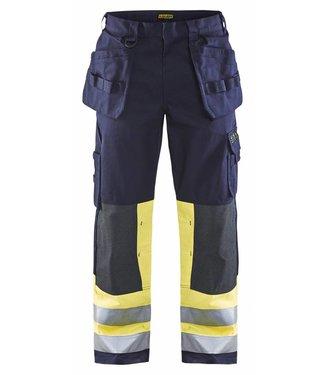 Blaklader Blåkläder 1479 Multinorm Werkbroek Marineblauw/Geel