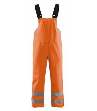 Blaklader Blåkläder 1386 Bretelregenbroek High Vis LEVEL 3 Oranje
