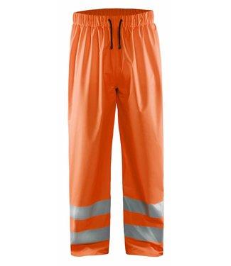 Blaklader Blåkläder 1384 Regenbroek High Vis LEVEL 1 Oranje
