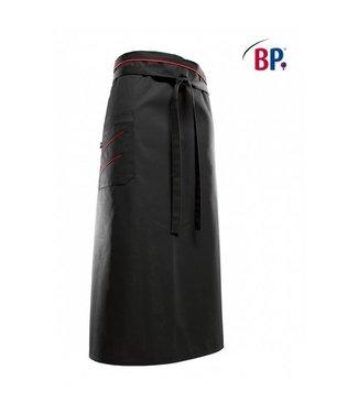 BP BP® Bistroschort lang (breedte: 100 cm) 1976-400-3281 zwart/rood