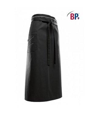 BP BP® Bistroschort lang (breedte: 100 cm) 1976-400-3251 zwart/lichtgrijs