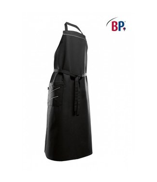 BP BP® Keukenschort lang (breedte: 75 cm) 1975-400-3251 zwart/grijs