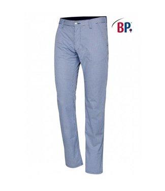 BP BP® Chinobroek voor heren 1735-930-19 blauw-wit pepita