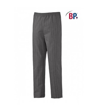 BP BP® Pantalon voor haar & hem 1645-801-36 zwart-wit streepdesign