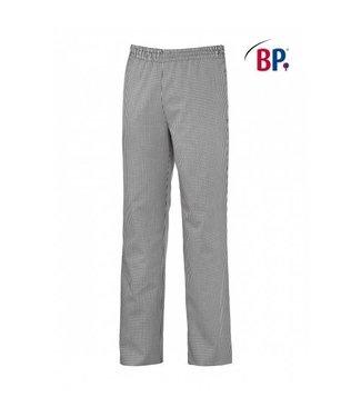 BP BP® Pantalon voor haar & hem 1645-801-33 zwart-wit pepita