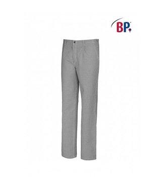 BP BP® Koks-/bakkersbroek 1353-910-18 blauw-wit pied-de-poule