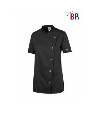 BP BP® Dameskoksbuis korte mouw 1598-485-32 zwart