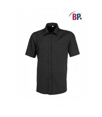 BP BP® Herenoverhemd 1/2 mouw 1564-682-32 zwart