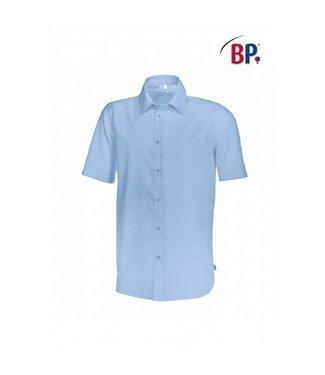 BP BP® Herenoverhemd 1/2 mouw 1564-682-11 lichtblauw