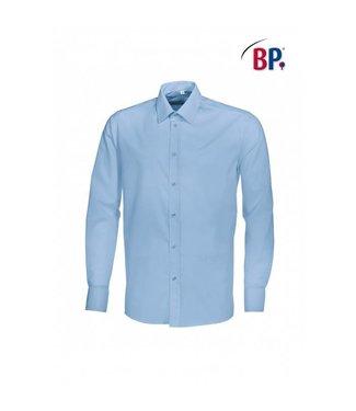 BP BP® Herenoverhemd 1563-682-11 lichtblauw