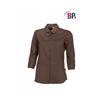 BP BP® Damesblouse 3/4 mouw 1561-682-43 chocoladebruin
