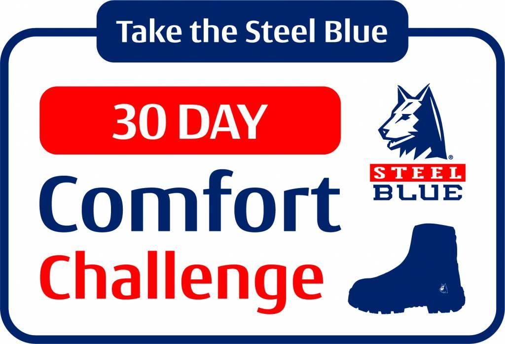 Steel Blue 30 dagen comfort garantie