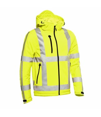 Santino SANTINO Hooded Softshell Vigo Fluor Yellow