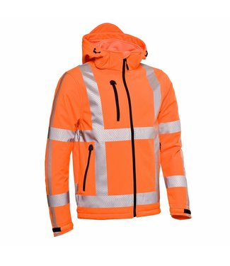Santino SANTINO Hooded Softshell Vigo Fluor Orange