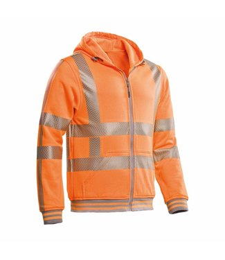 Santino SANTINO Hooded Vest Vermont Fluor Orange