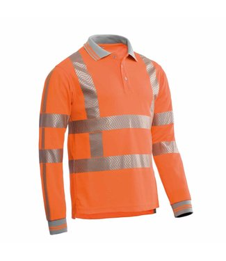 Santino SANTINO Poloshirt Vancouver Fluor Orange