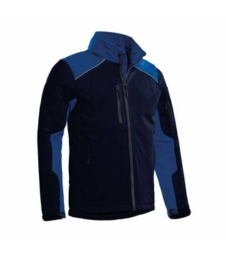 Santino SANTINO Softshell Jack Tour Real Navy / Royal Blue