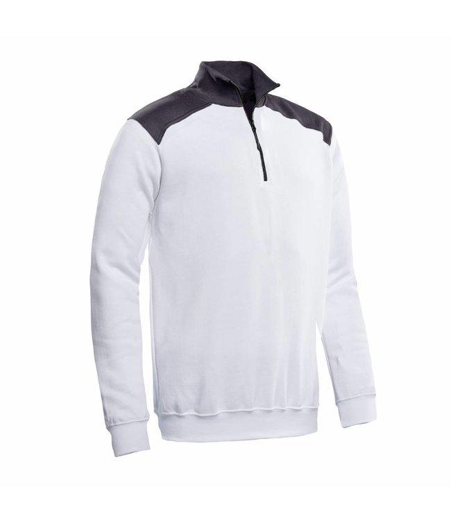 Santino SANTINO Zipsweater Tokyo White / Graphite