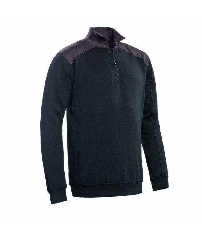 Santino SANTINO Zipsweater Tokyo Black / Graphite