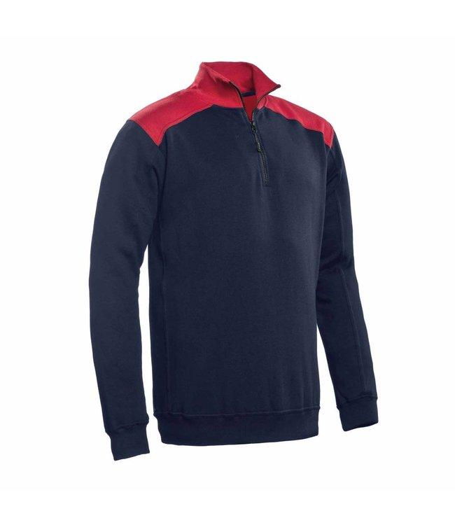 Santino SANTINO Zipsweater Tokyo Real Navy / Red