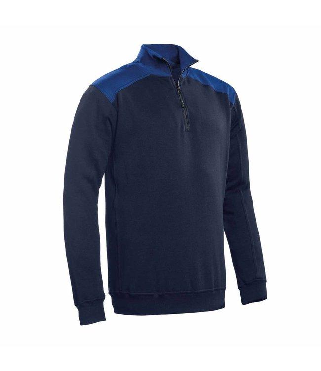 Santino SANTINO Zipsweater Tokyo Real Navy / Royal Blue