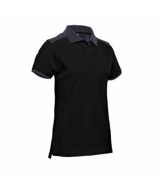 Santino SANTINO Dames Poloshirt Tivoli Black / Graphite