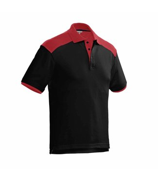 Santino SANTINO Poloshirt Tivoli Black / Red
