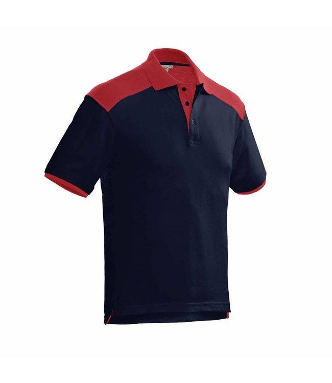 Santino SANTINO Poloshirt Tivoli Real Navy / Red