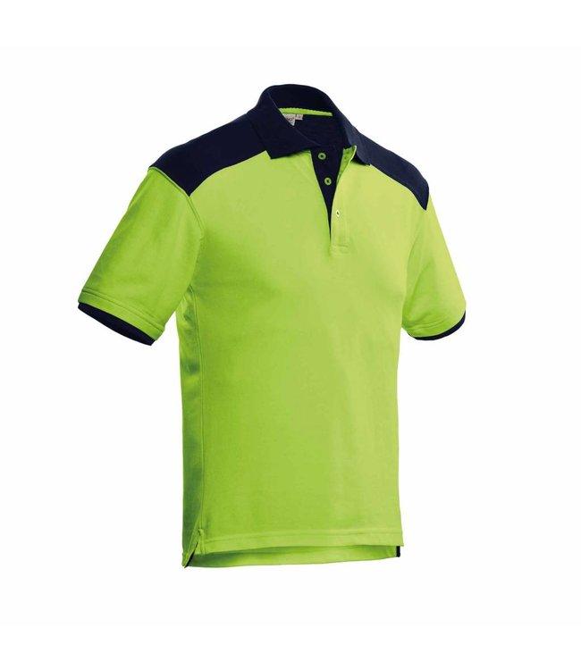 Santino SANTINO Poloshirt Tivoli Lime / Real Navy