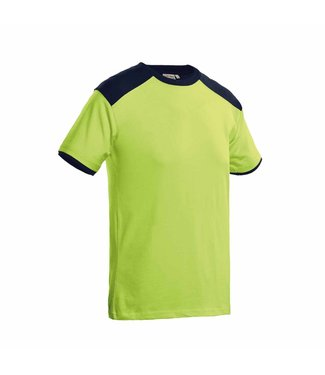 Santino SANTINO T-shirt Tiësto Lime / Real Navy
