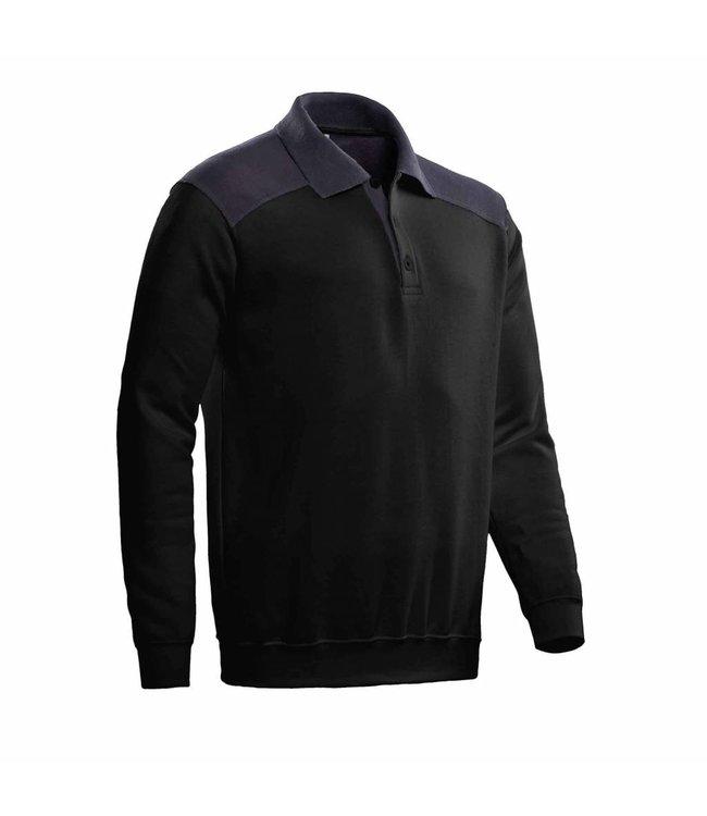 Santino SANTINO Polosweater Tesla Black / Graphite