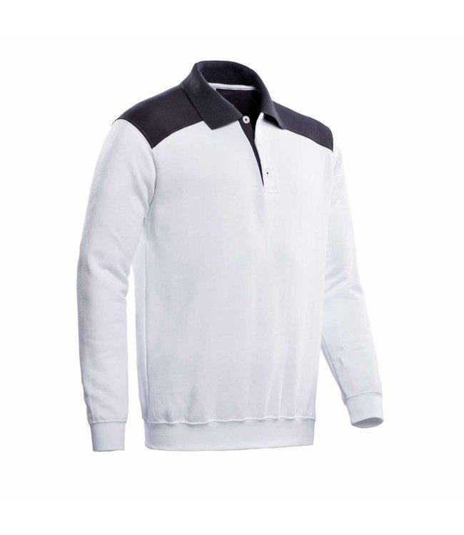 Santino SANTINO Polosweater Tesla White / Graphite