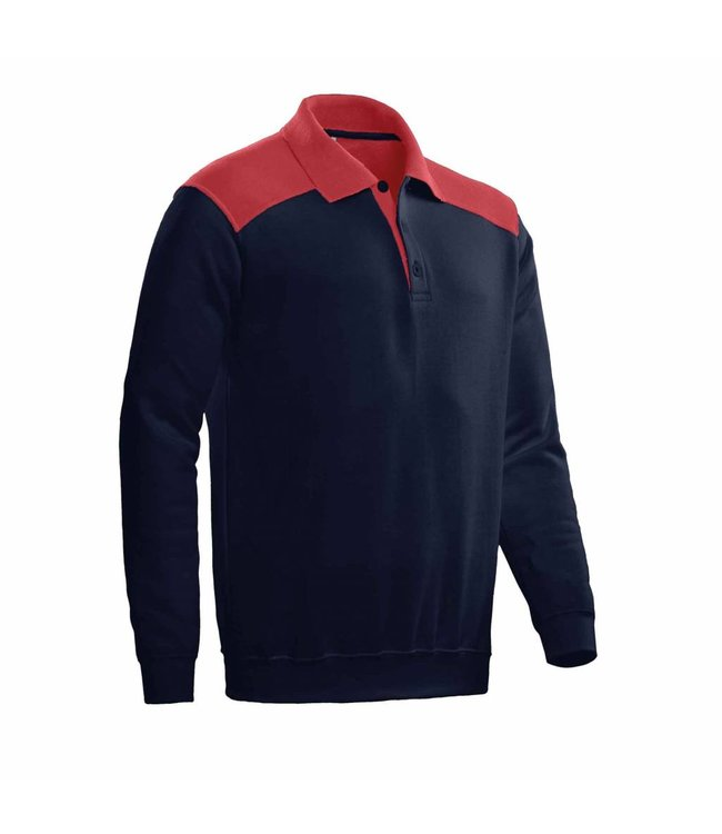 Santino SANTINO Polosweater Tesla Real Navy / Red