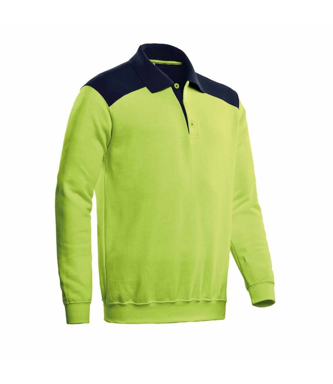 Santino SANTINO Polosweater Tesla Lime / Real Navy