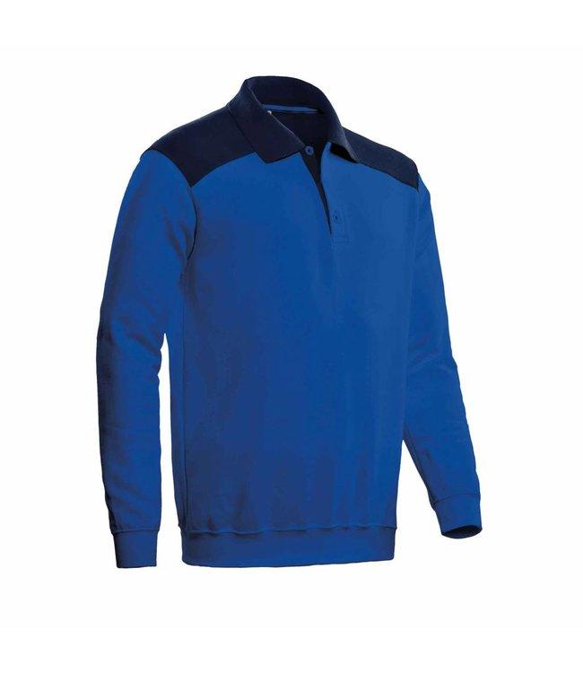 Santino SANTINO Polosweater Tesla Royal Blue / Real Navy
