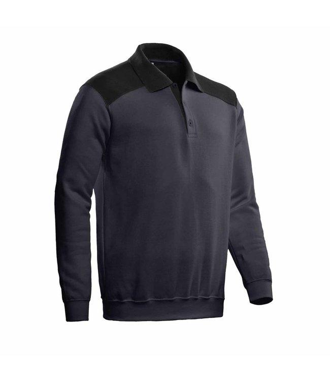Santino SANTINO Polosweater Tesla Graphite / Black